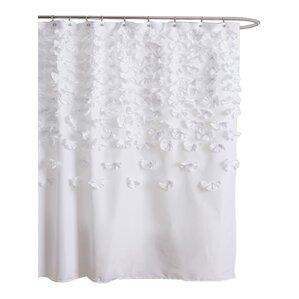 pale pink shower curtain. Pollie Shower Curtain Curtains  Joss Main