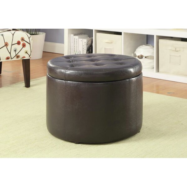 Mersey Tufted Storage Ottoman by Alcott Hill