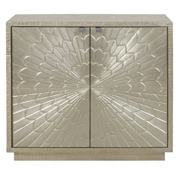Carlin Carved 2 Door Accent Cabinet by Everly Quinn Everly Quinn