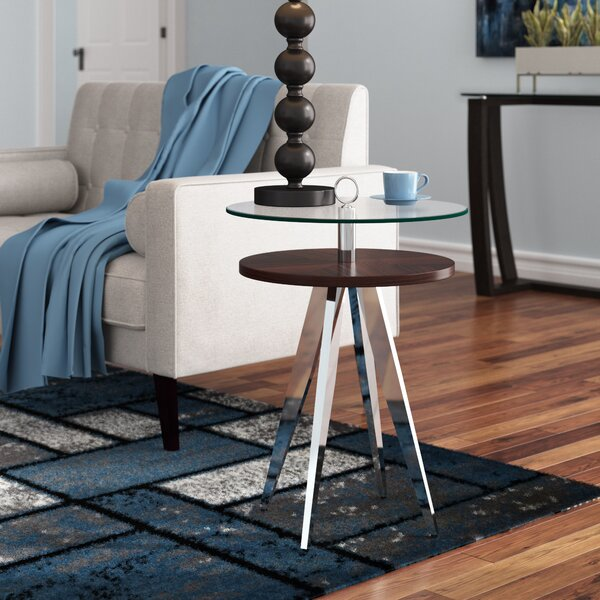 Napoleon Side End Table By Wade Logan