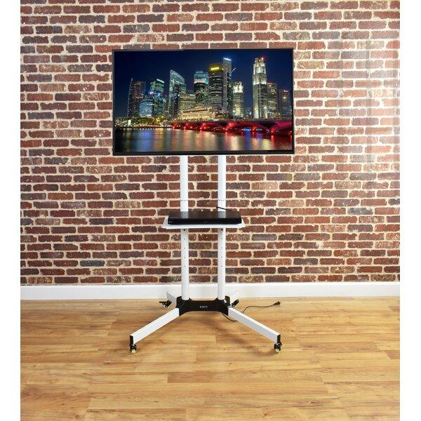 Mobile TV Cart Tilt Floor Stand Mount for 32-65 LCD/LED/Plasma Flat Panel Screens by Vivo