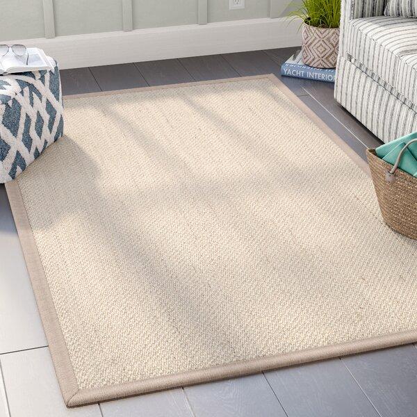 Monadnock Marble / Linen Area Rug by Beachcrest Ho