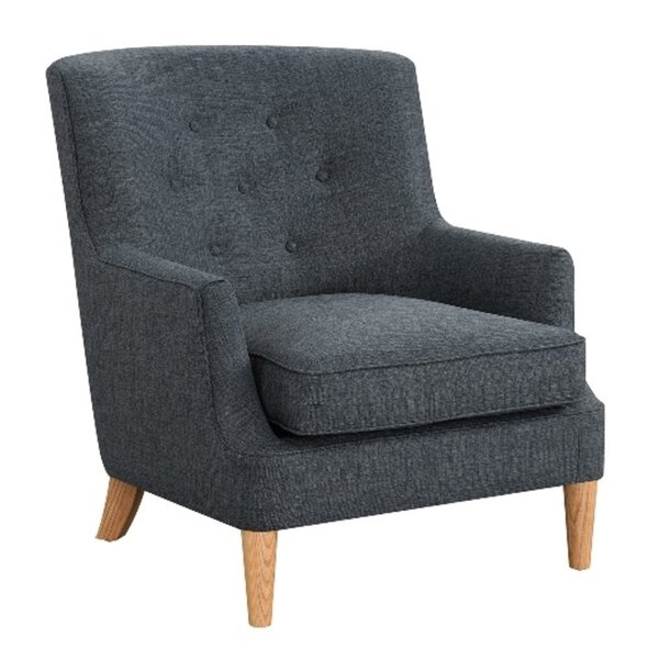 Okabena Upholstered Armchair by Wrought Studio