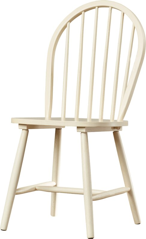 August Grove Geraldine Westminster Solid Wood Dining Chair