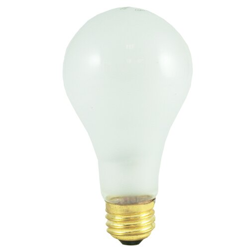 Frosted E26/Medium Incandescent Light Bulb (Set of 15) by Bulbrite Industries
