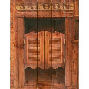 Saloon Door Photographic Print  sc 1 st  Wayfair & Interior Saloon Doors | Wayfair