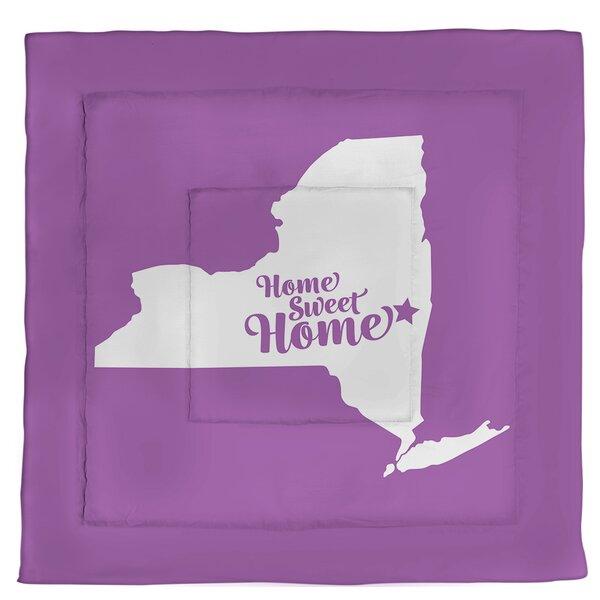 Albany Home Sweet Single Reversible Comforter
