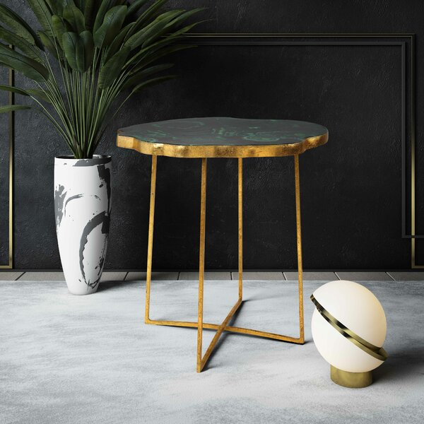 Flaxville End Table by Ivy Bronx