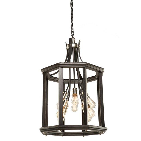 Selina 8 - Light Lantern Geometric Chandelier by Winston Porter Winston Porter