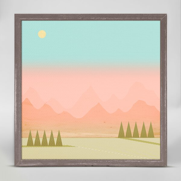 Celyn In The Distance Framed Canvas Art by Ivy Bronx
