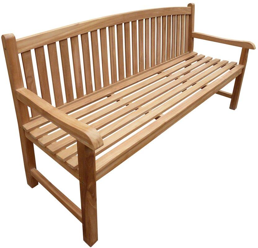 lutyens bench seat p teak asp garden