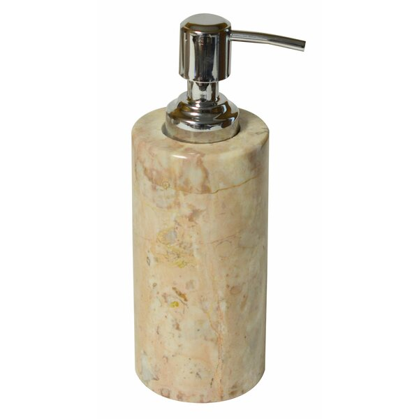 Polished Marble Julia Lotion Dispenser by Bloomsbury Market