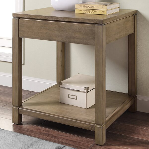 Daliah End Table With Storage By Gracie Oaks