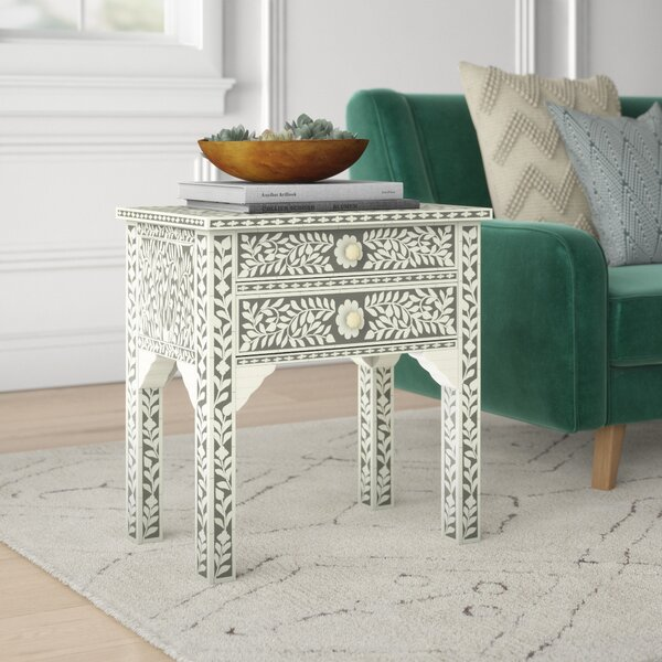 Charmain Hale End Table by Mistana Mistana