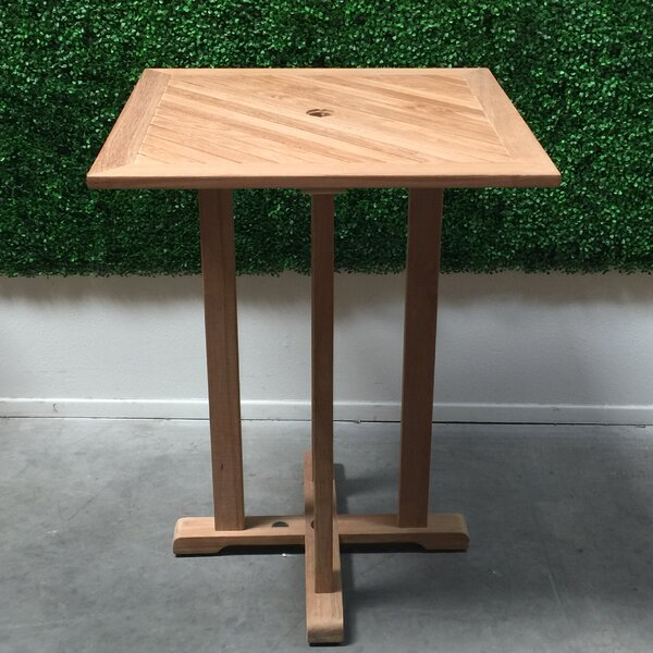 Solid Wood Bar Table by HiTeak Furniture