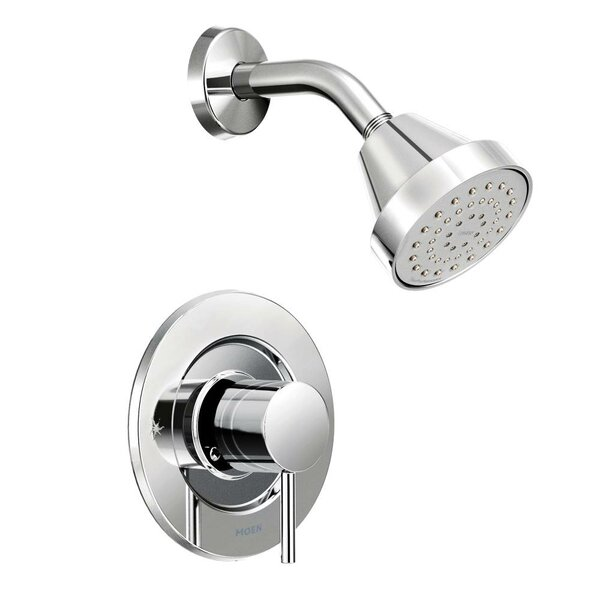 Align Posi-Temp Shower Faucet Trim with Lever Handle by Moen