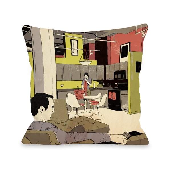 Routine Throw Pillow by One Bella Casa