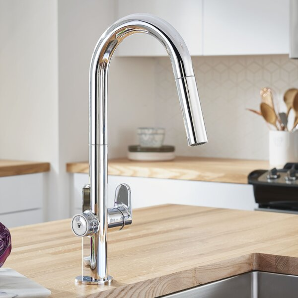 Beale Pull Down Touch Single Handle Kitchen Faucet by American Standard American Standard