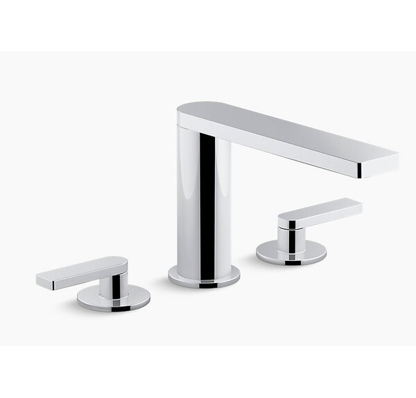 Composed Double Handle Deck Mount Bath Faucet Trim by Kohler