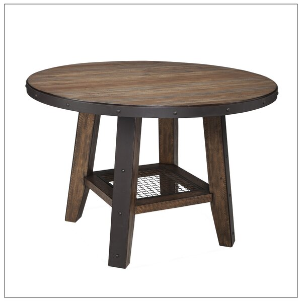 Baulch Solid Wood Dining Table by Gracie Oaks