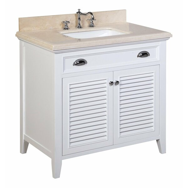 Savannah 36 Single Bathroom Vanity Set by Kitchen Bath Collection