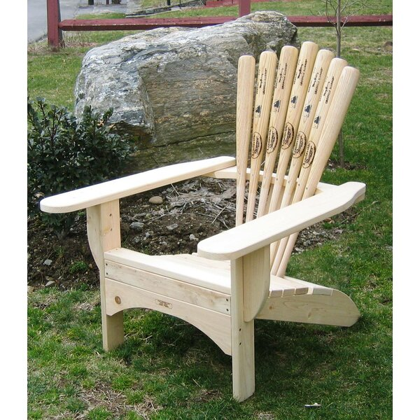 Solid Wood Adirondack Chair by Ski Chair