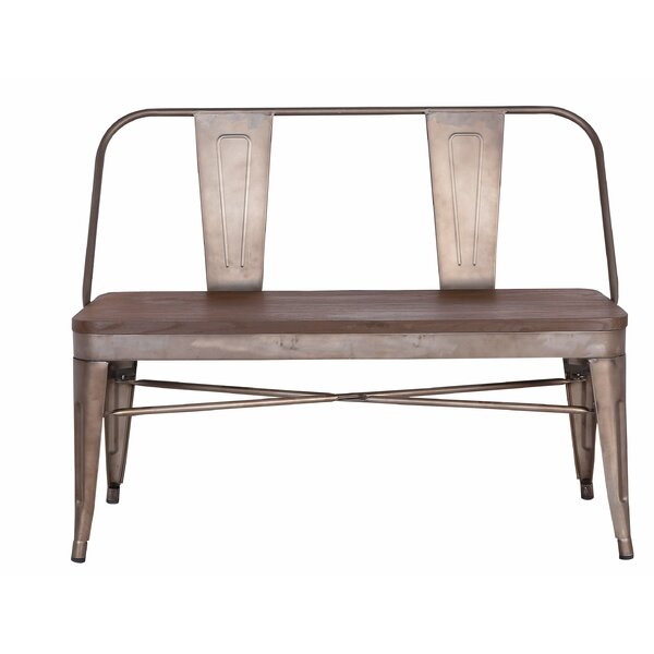 Goza Metal Bench by Williston Forge