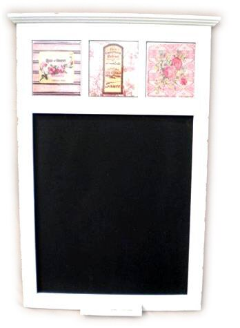 Wooden Wall Mounted Chalkboard by August Grove