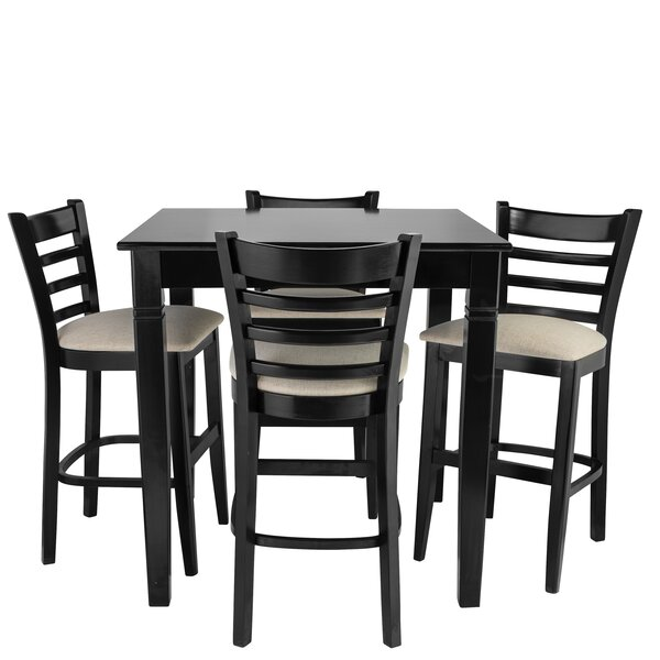Weiler 5 Piece Pub Table Set by Red Barrel Studio
