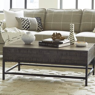 Carnes Lift Top Coffee Table by Williston Forge