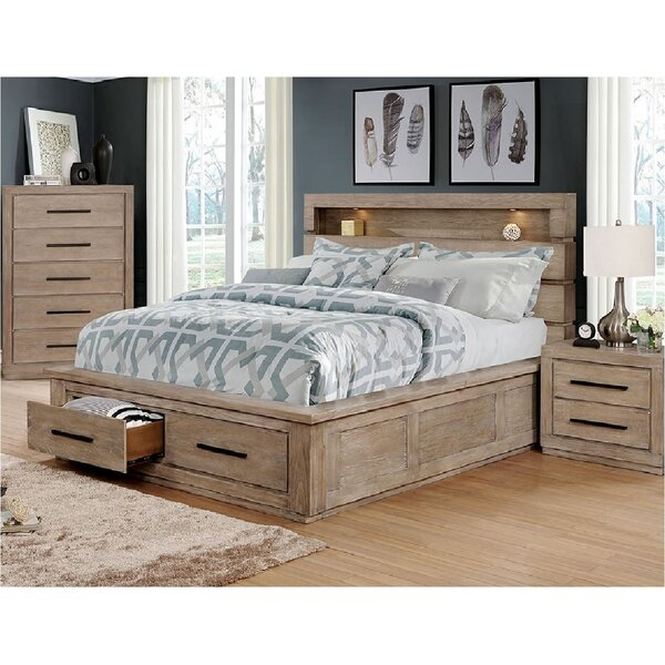 Elisabeth Storage Platform Bed by Loon Peak