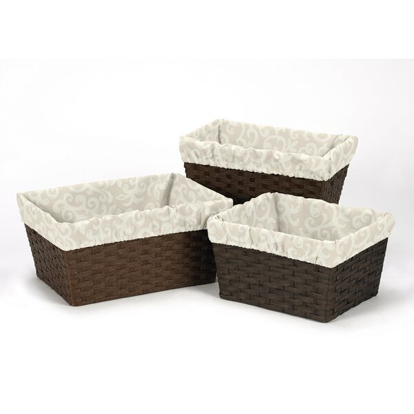 Victoria Basket Liners by Sweet Jojo Designs
