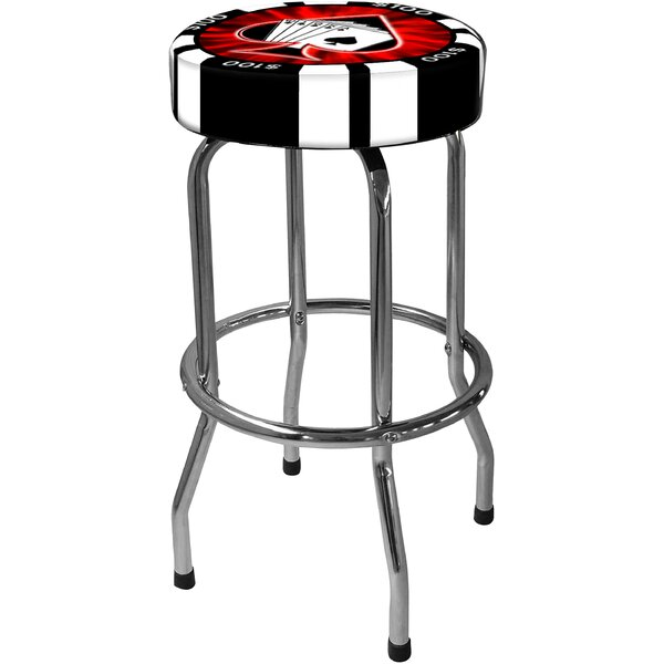 Poker Chip 30.5 Bar Stool by On The Edge Marketing
