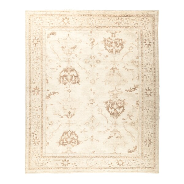 One-of-a-Kind Anatollia Hand-Knotted Beige Area Rug by Darya Rugs