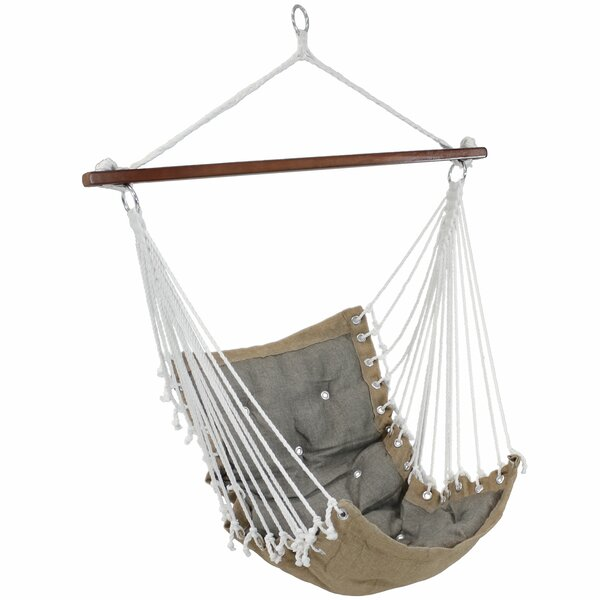 Cade Tufted Swing Chair by Millwood Pines Millwood Pines