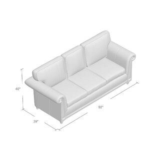 Simmons Upholstery Duwayne Queen Sleeper Sofa Three Posts