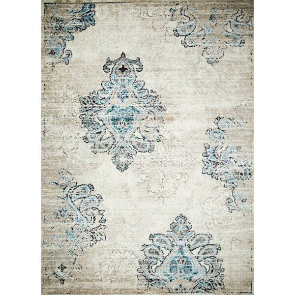 Desmond Cream Area Rug by Bloomsbury Market