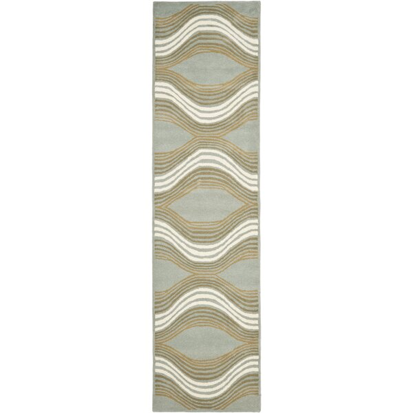 Cateline Blue Area Rug by Zipcode Design