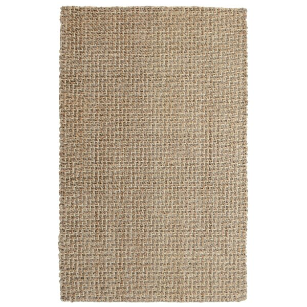 Zulma Hand-Woven Natural Area Rug by Highland Dunes