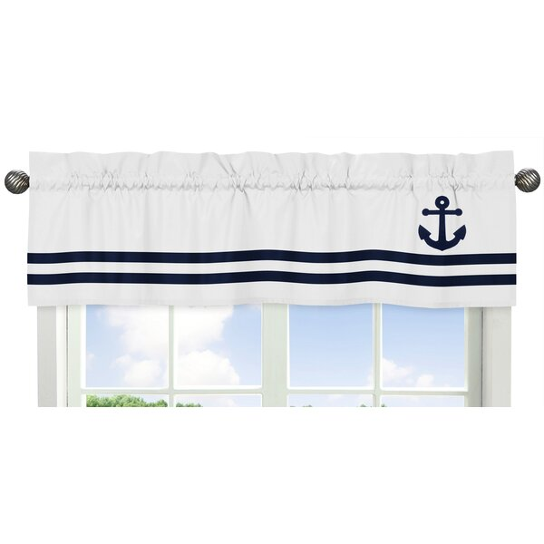 Anchors Away Window Valance by Sweet Jojo Designs