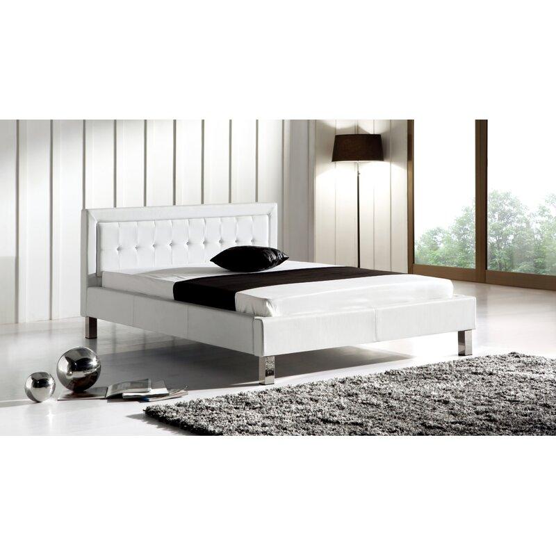 Orren Ellis Rockwell Modern Upholstered Platform Bed ...
