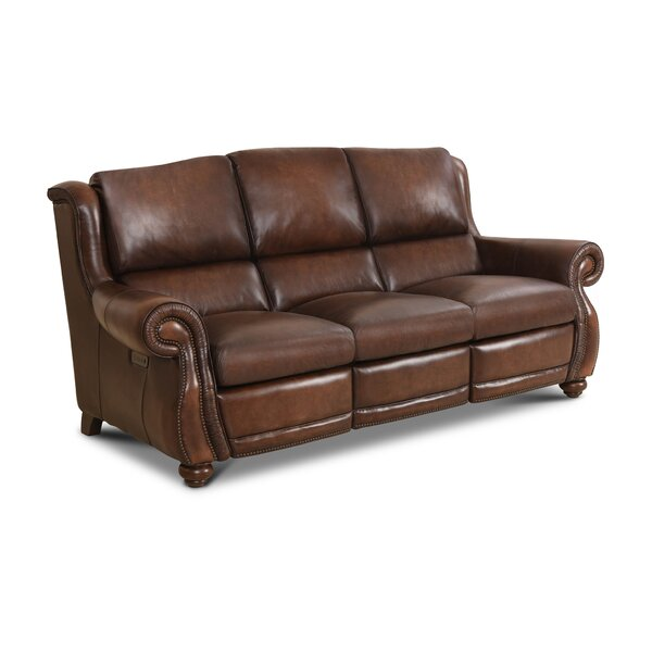 Top Quality Roush Leather Reclining Sofa by Red Barrel Studio by Red Barrel Studio
