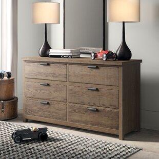 Compare prices Strasburg 6 Drawer Double Dresser ByGreyleigh