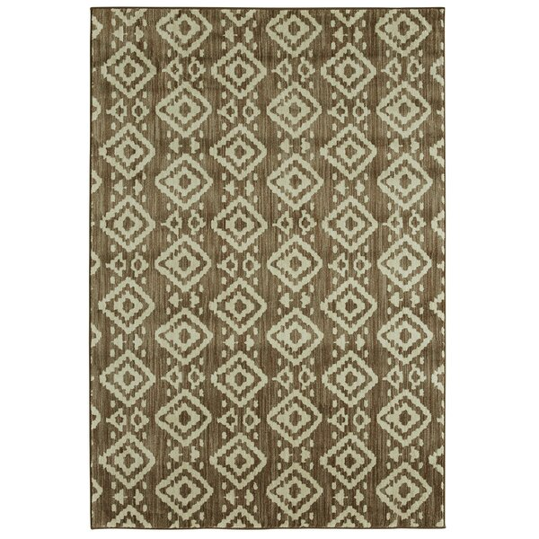 Mohawk Studio Tangier Power Loom Taupe Indoor Area Rug by Under the Canopy