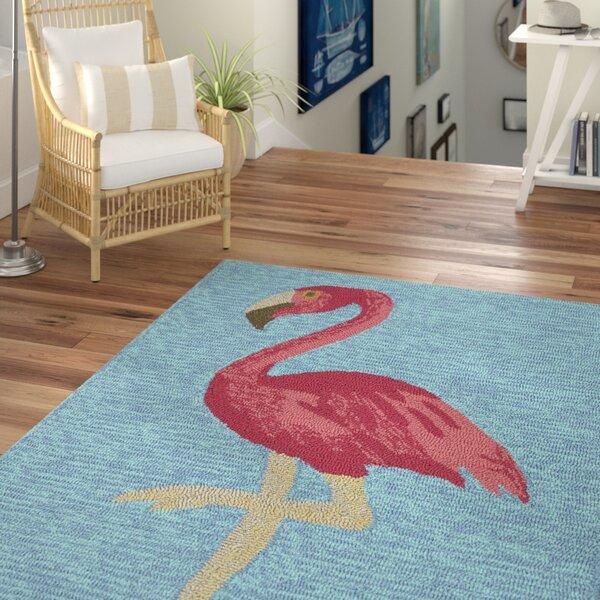 Brianna Handmade Blue Indoor/Outdoor Area Rug by Beachcrest Home