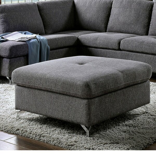 Deyo Contemporary Tufted Ottoman By Orren Ellis 2019 Sale