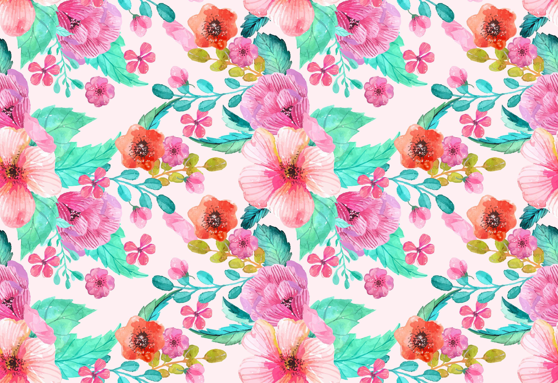 Wrought Studio Dow Removable Vintage Floral Nursery 4 33 L X 75