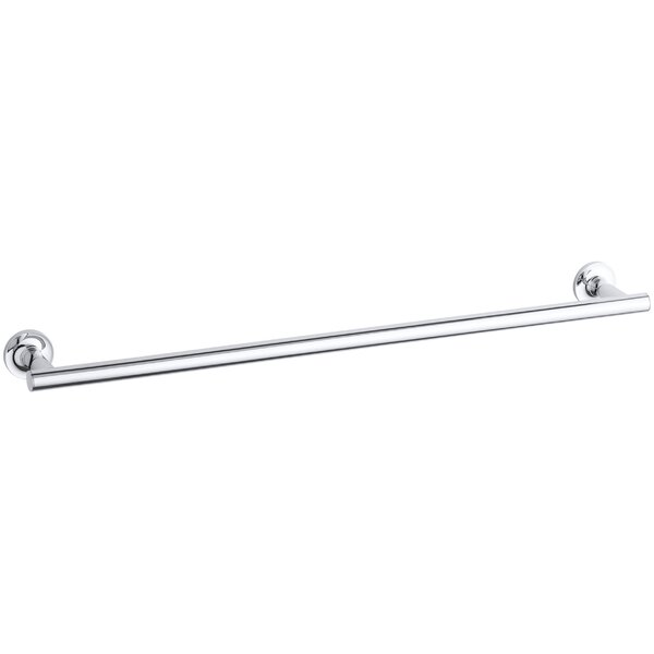Purist 24 Wall Mounted Towel Bar by Kohler