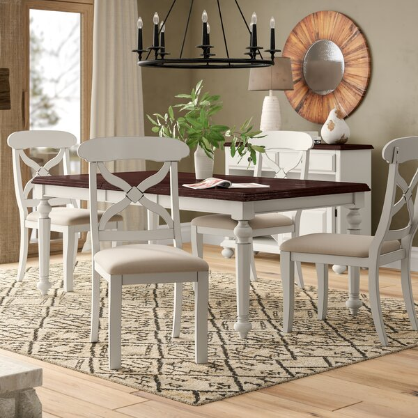 Lockwood Butterfly Leaf 6 Piece Dining Set by Loon Peak