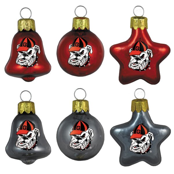 NCAA Ornament Set (Set of 6) by Topperscot